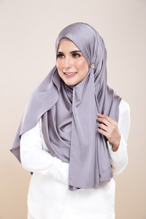ROYALE SATEEN PEWTER